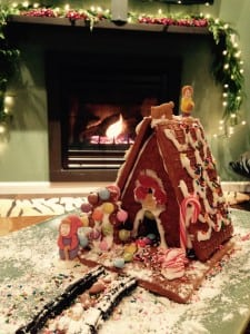 2014 Gingerbread house-1